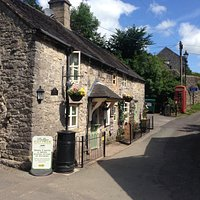 This is Pollys cottage and where you can get some drinks / food.