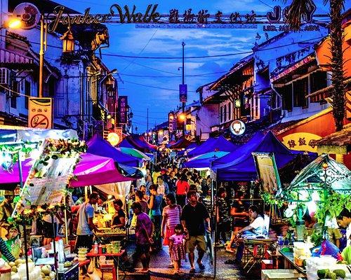 The Jonker Street night market is open Friday, Saturday and Sunday nights.