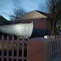 Esquina del Museo marítimo y naval