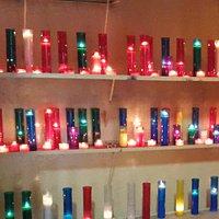 Espace aux bougies