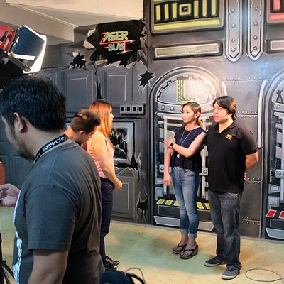 The couple Mr & Mrs Ian T. Saavedra is the owner of Laser Blast i Cagayan de Oro City.