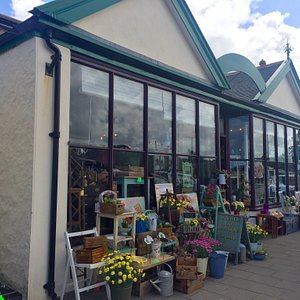 Hayle emporium is two great shops in one , offering everything vintage from french enamel to stu