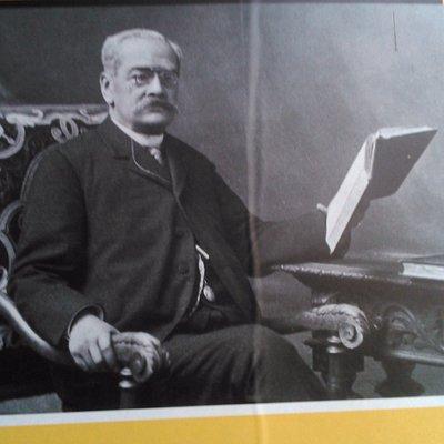 La imagen mas conocida del Bibliotecario Mendigo