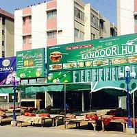 Tandoori hutt at Boat basin