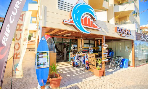 Rocha Surf Shop View outside
