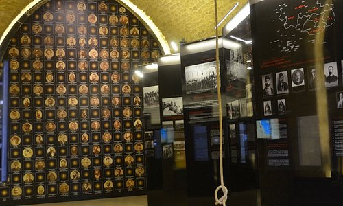 The first part of the museum: The Genocide Hall