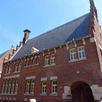 Het Hooge Huys aan begin Langestraat;Alkmaar july 2016
