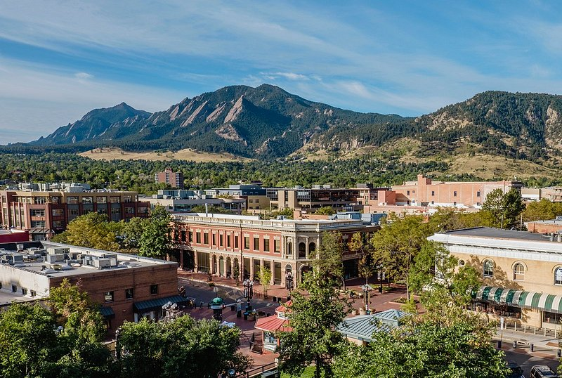 Boulder from above.