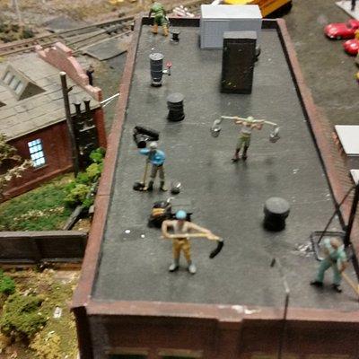 Roof top repairs