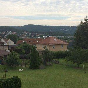 Aussicht über Bad Kissingen