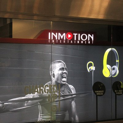 InMotion Entertainment, San Francisco Airport, International Terminal, South San Francisco, Ca