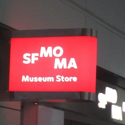 SFMOMA Museum Store, International Terminal,, San Francisco Airport