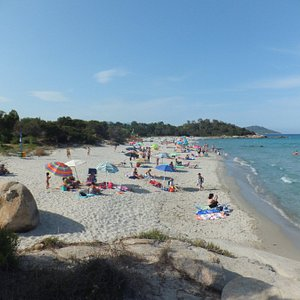 il golfetto, the mainbeach nis the northend