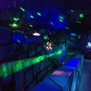 Great Laser Tag and Game Room