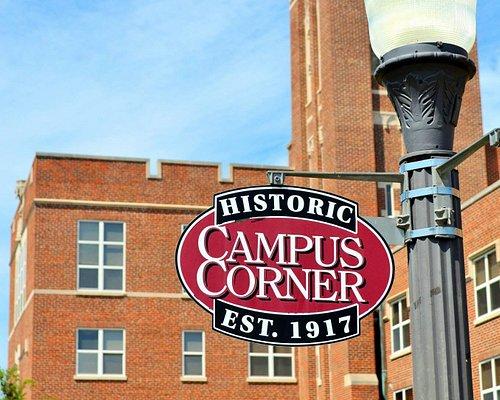 Historic Campus Corner in Norman, OK