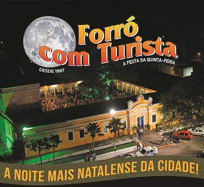 Centro de Turismo de Natal, local onde acontece o tradicional Forro com Turista.