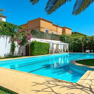 The Pool at the B&B Mondello Resort