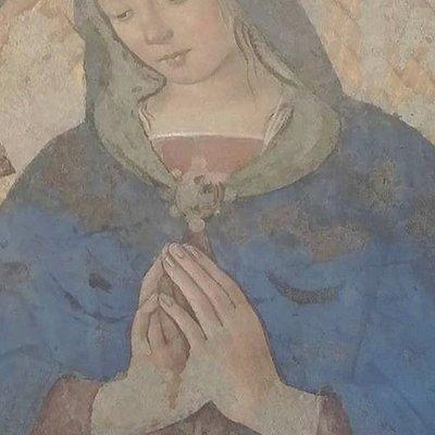 Mary at the Pinacoteca