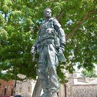 The Irish Soldier monument