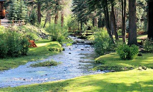 Little Colorado River runs through it!