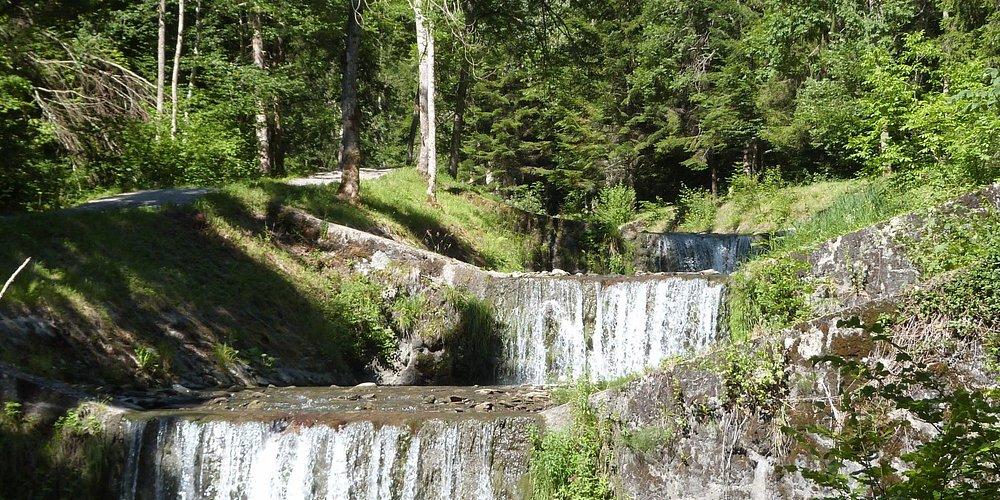 Cascades à quelques km du VTF
