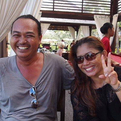 Maarif & his beautiful lady
