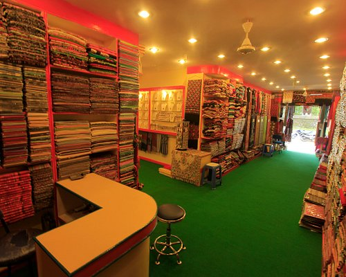 inside view of  store.