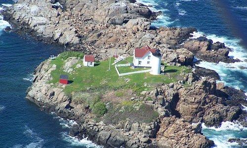 Amazing lighthouse fly-bys