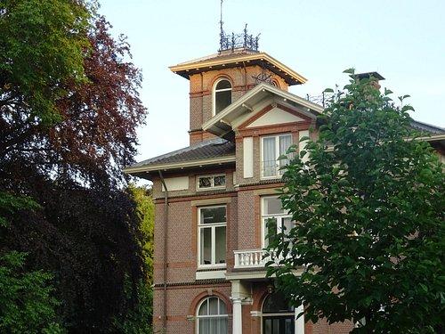 architectuur aan het Hogelandse Park ;Utrecht july 2016