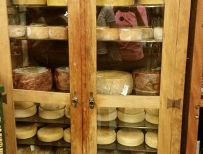 Queijos, muitos queijos.