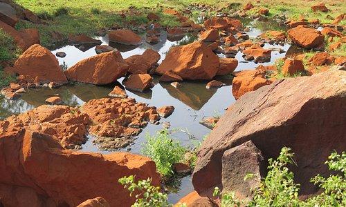 overloop van Maduru Oya reservoir