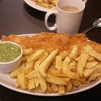 The haddock special...to die for !