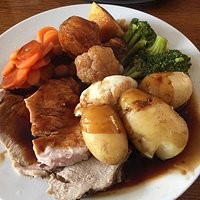 Sunday lunch (choice of poem or beef)