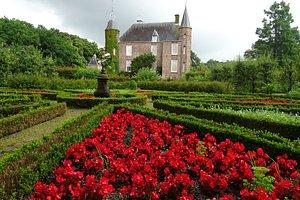 formele tuin Slot Zuylen in juni 2016