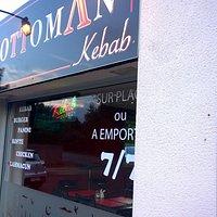 façade du restaurant l'Ottoman