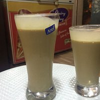 Large and medium cold coffee