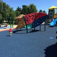This is a very large and fun place for kids of all ages to play. Lots of room to run, climb and