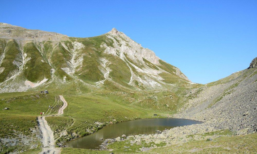 Il lago di Rocca la Meja