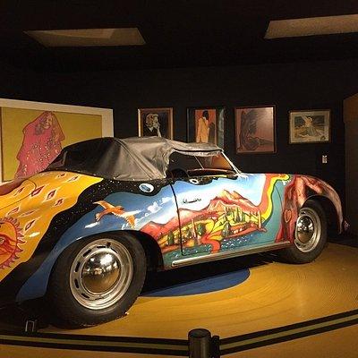 Replica of Janis Joplin's Porsche