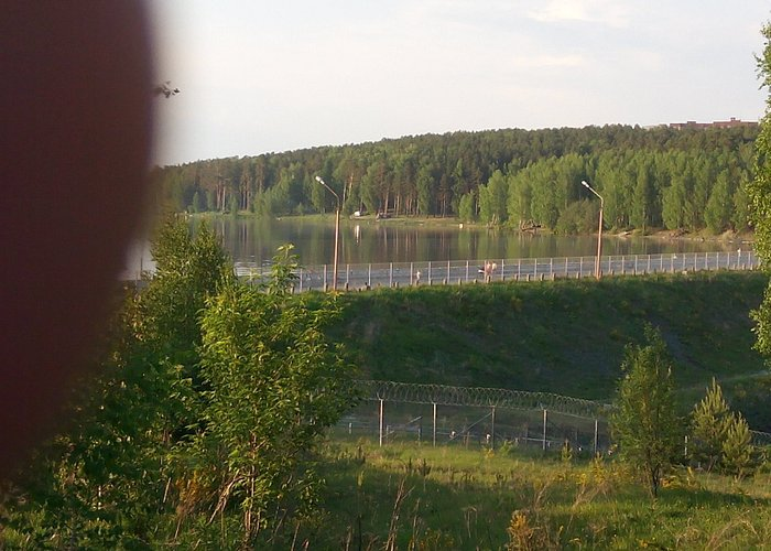 Плотина Белоярского водохранилища