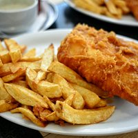 Fantastic Fresh Fried Cod and Chips