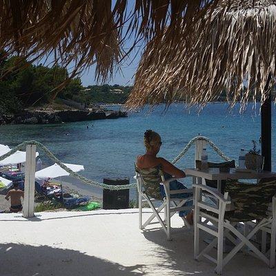 uitzicht vanuit het restaurant 2