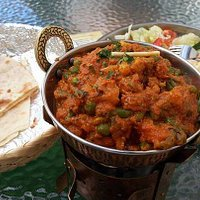 Vegetable curry with chapati