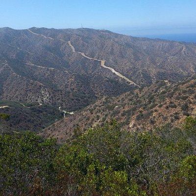 Visiting the Interior of Catalina
