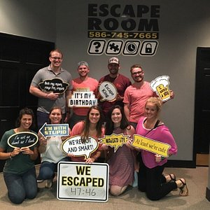 Two great experience at Escape Room! Can't wait to do more! 😁🗝🚪🔎