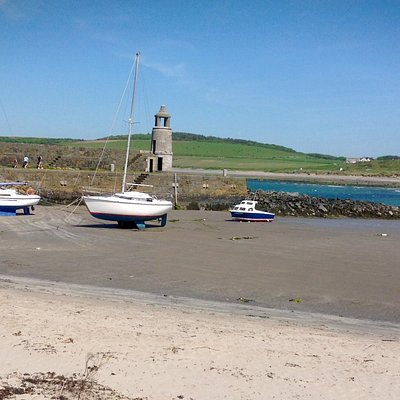 Port Logan Lighthouse and Harbour