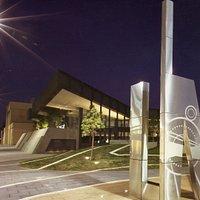 LibraryMuseum at night