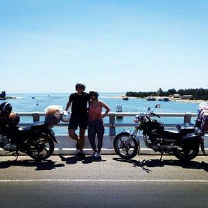 Cua Viet beach, what is a view