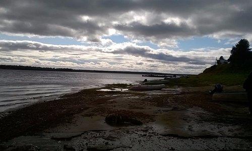 берег Мезени в Дорогорском