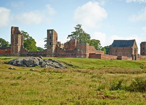 Bradgate House - the earliest brickt-built great house in England